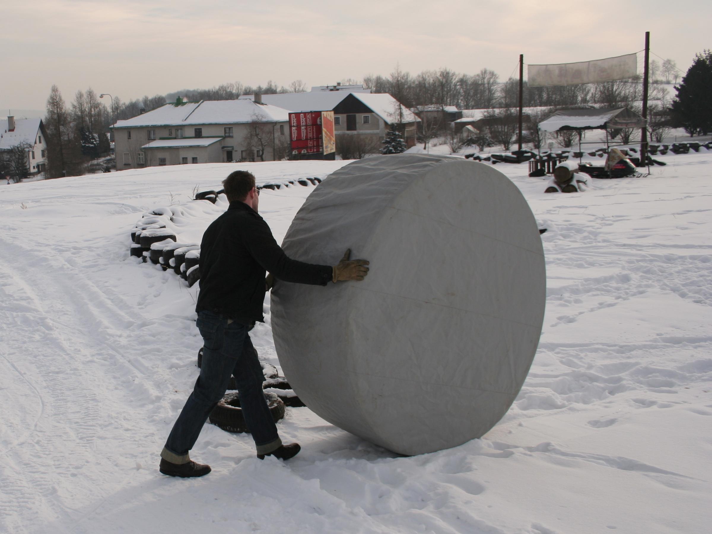facebook vířivka v zimě